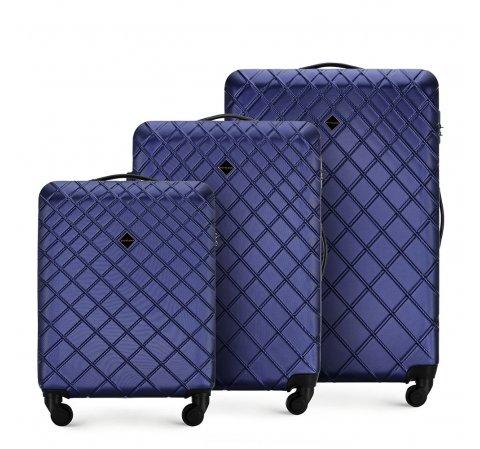 комплект чемоданов из ABS 56-3A-55S-91