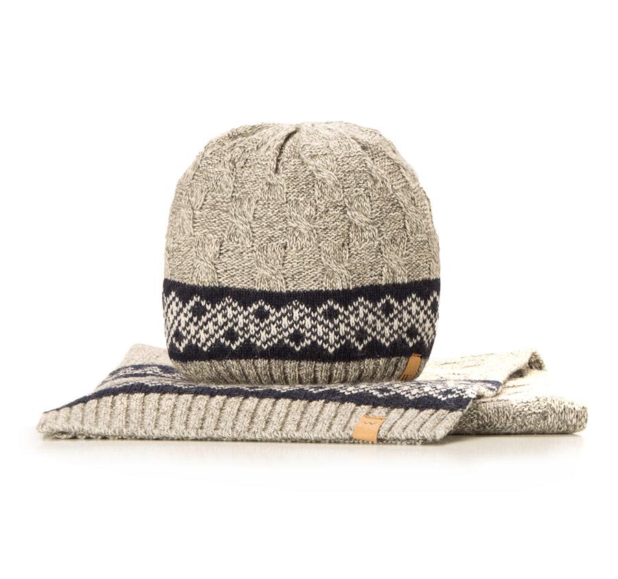 Komplet czapka + szalik 85-SF-200-8