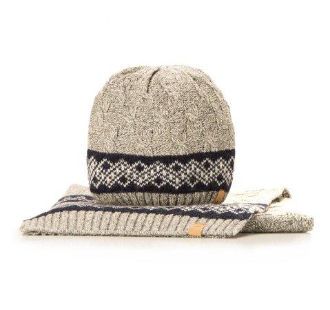 Комплект шапка + шарф Wittchen 85-SF-200-8